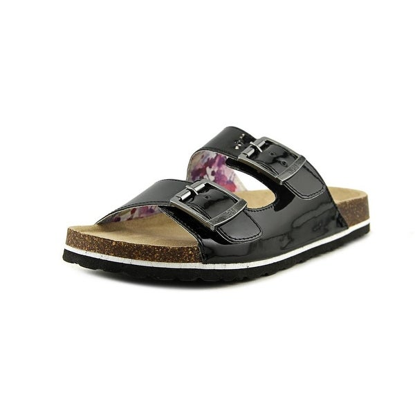 JBU by Jambu Ellen Too Women Open Toe Synthetic Black Slides Sandal
