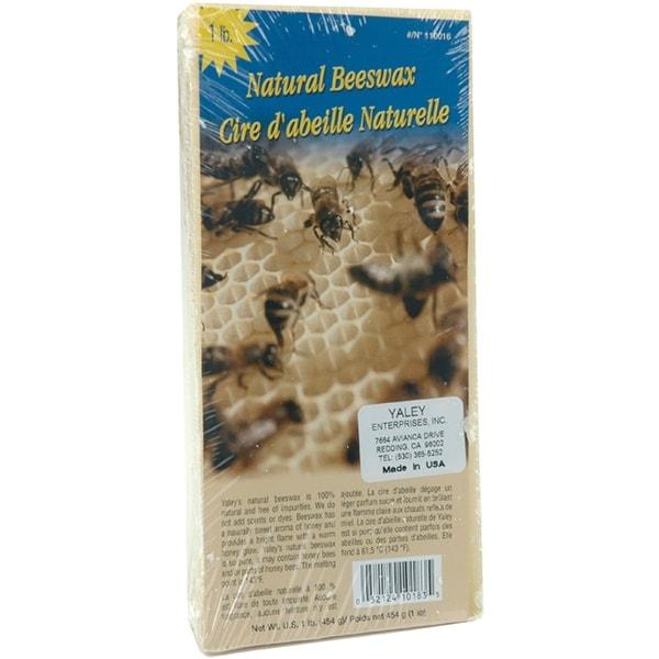 Beeswax 1lb Block-Natural