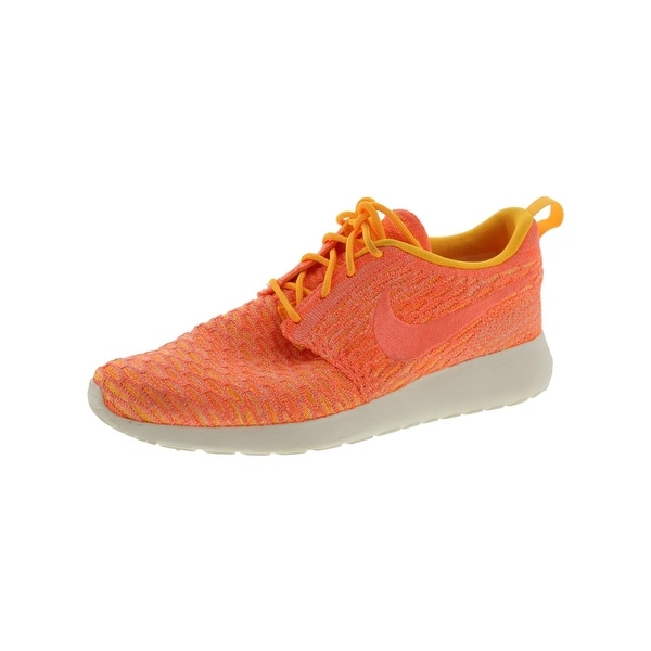 timeless design f4bab da419 ... coupon code for nike womens roshe one flyknit running shoes flyknit  colorblock 7 medium bm 33d92
