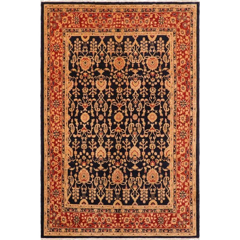 """Shabby Chic Ziegler Jessika Hand Knotted Area Rug -7'11"""" x 9'4"""" - 7 ft. 11 in. X 9 ft. 4 in."""