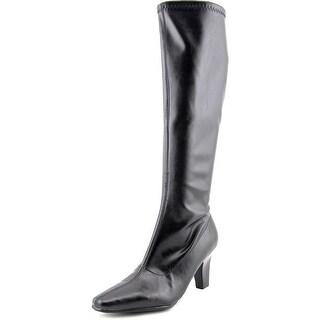 Aerosoles Risky Pizness Women W Square Toe Synthetic Black Knee High Boot