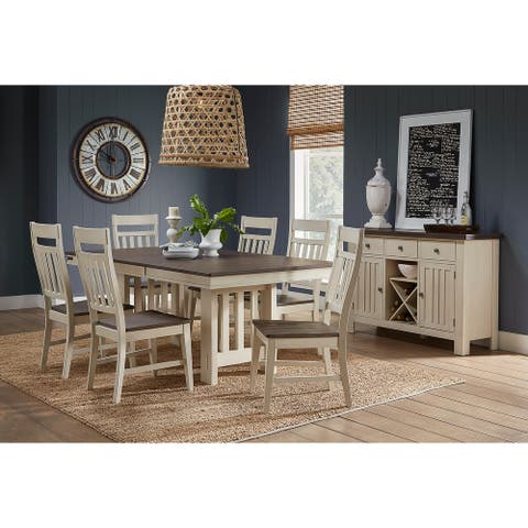 Simply Solid Bronwyn Solid Wood 7-piece Dining Collection