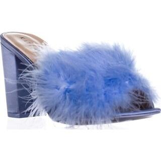 Katy Perry The Bon Bon Block-Heel Mules, Soft Blue - 8 us / 38 eu