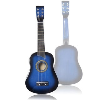 25''Beginners Kids Acoustic Guitar 6 String with Pick Children Kids Gift