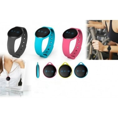 Bluetooth Smart Watch with Silicone Strap - Assorted Colors