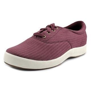 Grasshoppers Janey Women Round Toe Canvas Burgundy Sneakers