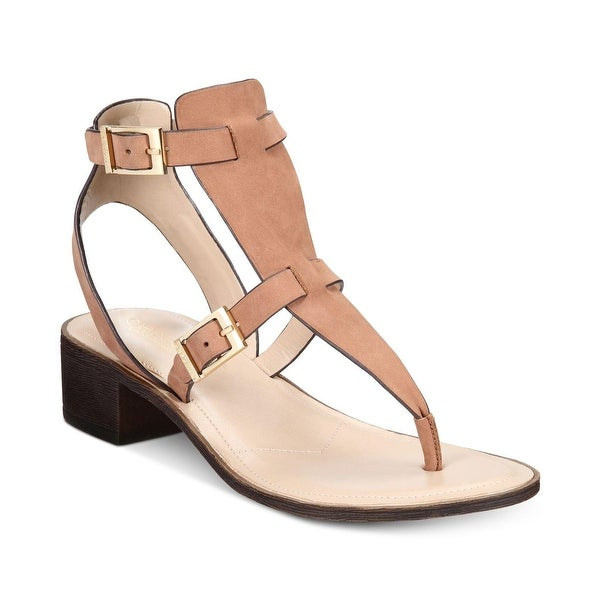 Charles by Charles David Womens Calvin Leather Open Toe Casual Ankle Strap Sa... - 7.5