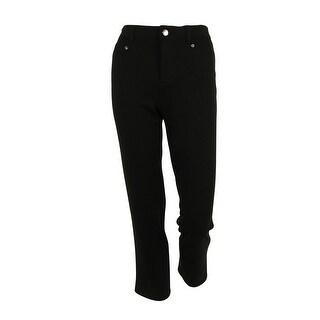 JM Collection Women's Comfort Waistband Pants