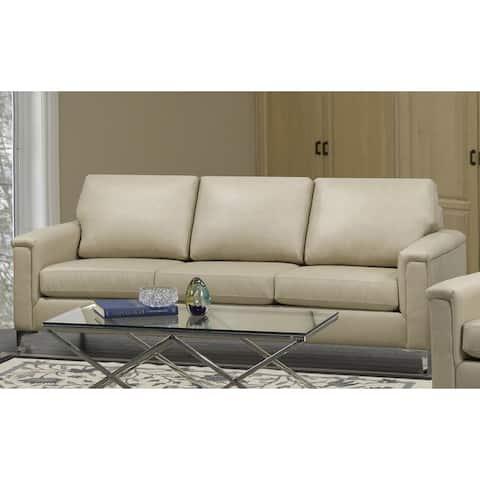 Lessa Modern Premium Top Grain Leather Sofa