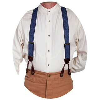 Scully Western Suspenders Mens Terry Elastic Everyday Wear - One size