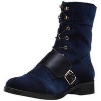 kensie Women's Carlynn Combat Boot