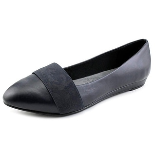 Soft Style by Hush Puppies Dona 2E Pointed Toe Synthetic Flats