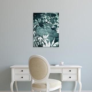 Easy Art Prints Iris Lehnhardt's 'Abstract Leaves' Premium Canvas Art