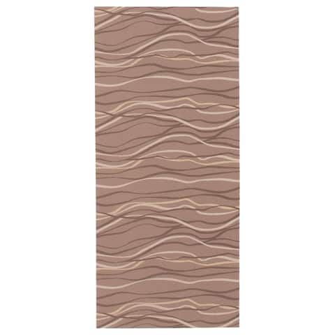 ECARPETGALLERY Bellisima Casual Brown Rug