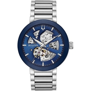 Link to Bulova Men's 96A204 'Modern' Stainless Steel Watch - Multi Similar Items in Men's Watches
