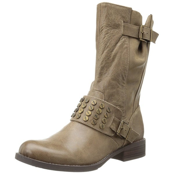 Jessica Simpson Women's Skylare Motorcycle Boots