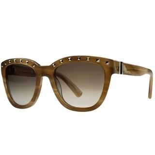 Valentino V677/S 772 Honey Wayfarer Sunglasses