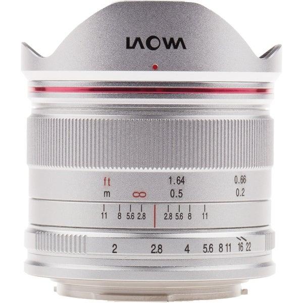 Venus Optics Laowa 7.5mm f/2 MFT Lens (Silver, Ultra-light Version) - Silver