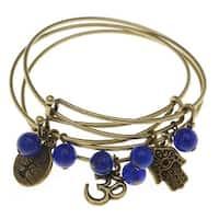 Yoga Bangle Bracelet Set - Exclusive Beadaholique Jewelry Kit