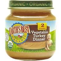 Earth's Best - Organic Vegetable Turkey Dinner ( 12 - 4 OZ)