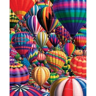 "Jigsaw Puzzle 1000 Pieces 24""X30""-Hot Air Balloons"