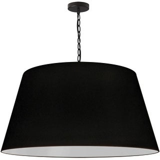Link to 1LT Brynn X-Large Pendant, BLK Shade, Black Similar Items in Pendant Lights