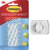 3M Command Clear Decor Clip 17026CLR-ES-20PK Unit: EACH