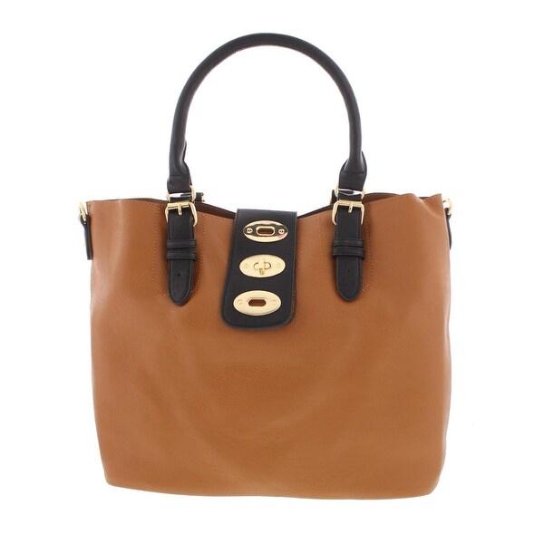 0a1c72ad04 Shop Kathy Ireland Womens Tote Handbag Faux Leather Signature ...