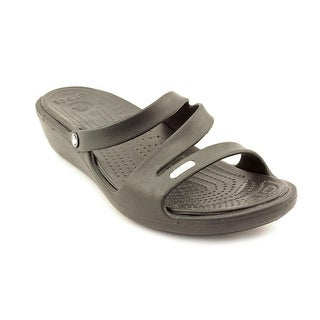 Crocs Patricia Open Toe Synthetic Wedge Sandal