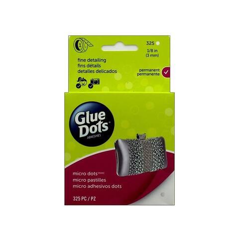 34300-325 glue dots micro 1 8 box 325pc