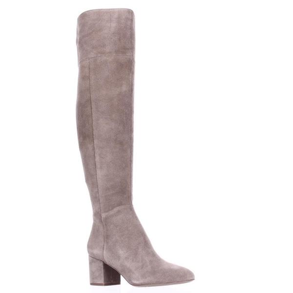 Franco Sarto Kerri Tall Block Heel Boots, Mushroom