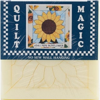 "Sunflower Quilt Magic Kit-6""X6"""