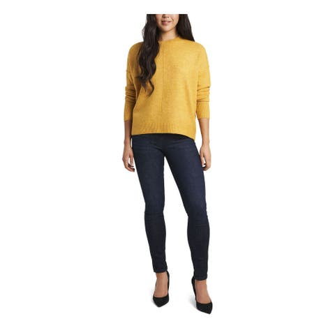 VINCE CAMUTO Yellow Long Sleeve Sweater XL