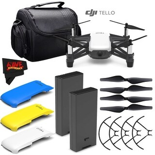 Ryze Tech Tello Quadcopter #CP.PT.00000252.01 + Ryze Tech Battery for Tello + Carrying Case Bundle