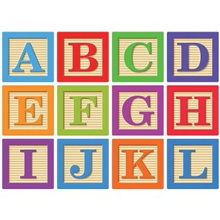 Abc Blocks Magnetic Letters