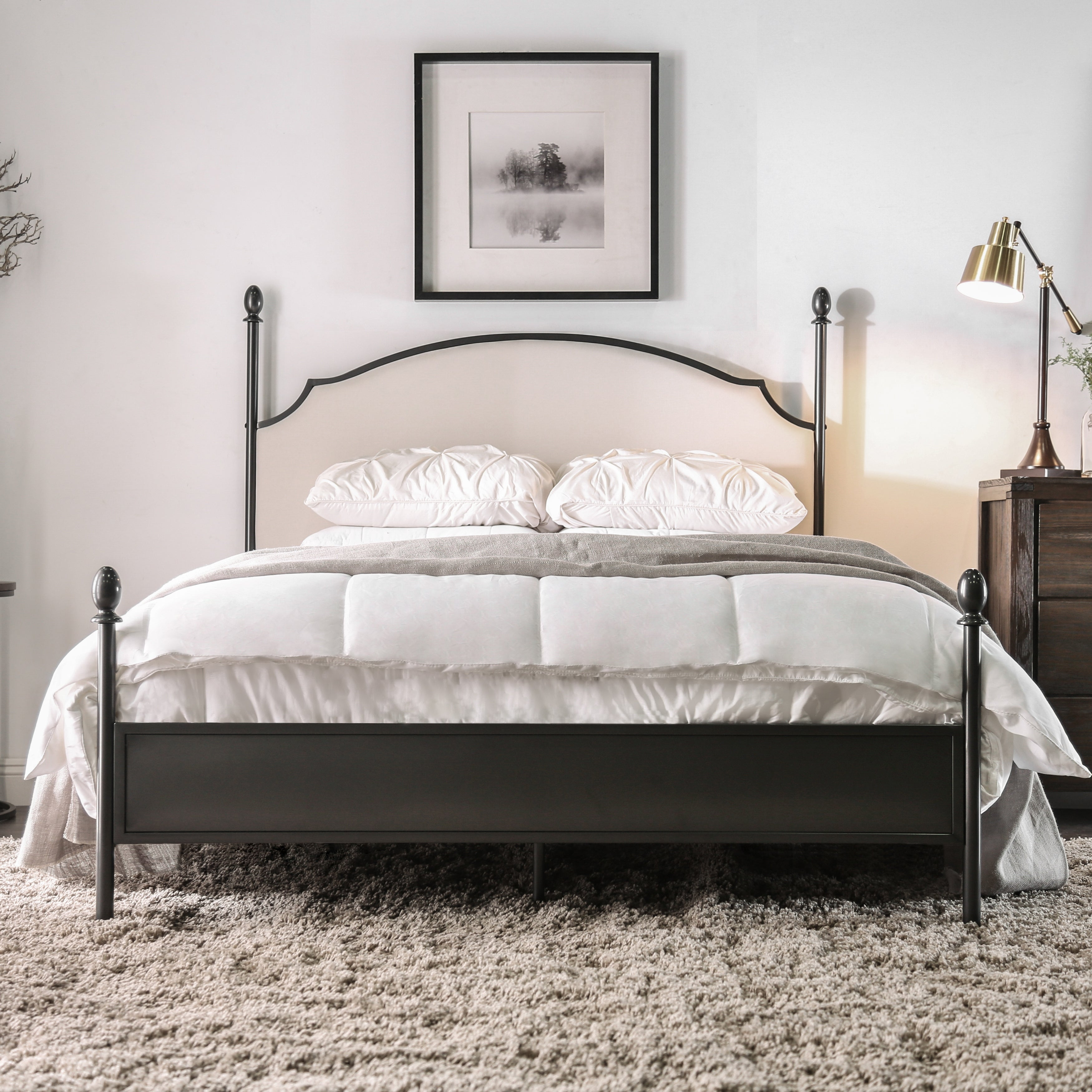 Picture of: The Gray Barn Epona Contemporary Arched Four Poster Bed Overstock 21906834