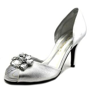 Caparros Veranda Peep-Toe Synthetic Heels