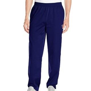 UMBRO NEW Blue Mens Size Medium M Performance Stretch Track Pants