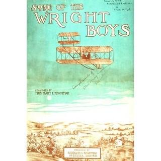 Marmont Hill Wright Brothers - Art Print on Premium Canvas Smithsonian Art Print on Premium Quality Canvas