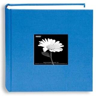 """Pioneer Photo Albums DA200CBF-SKB Fabric Frame Album (Holds 200 4x6"""" Photos, Sky Blue)"""