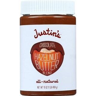 Justin's Nut Butter - Chocolate Hazelnut Butter ( 6 - 16 OZ)