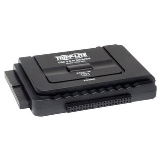 Tripp Lite U338-000 Tripp Lite USB 3.0 SuperSpeed to Serial ATA (SATA) and IDE Adapter - for 2.5in or 3.5in Hard Drives