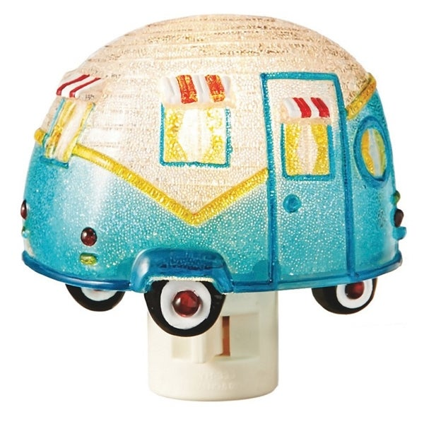 "Camper Nightlight - Measures 3.75"" - MultiColor"
