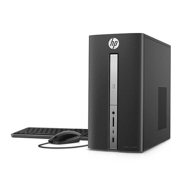 Refurbished - HP Pavilion 570-p057cb Desktop Intel i5-7400 3GHz 8GB RAM 2TB + 16GB SSD Win 10