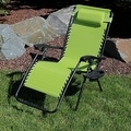Sunnydaze Oversized Zero Gravity Lounge Chair with Pillow and Cup Holder - Thumbnail 17