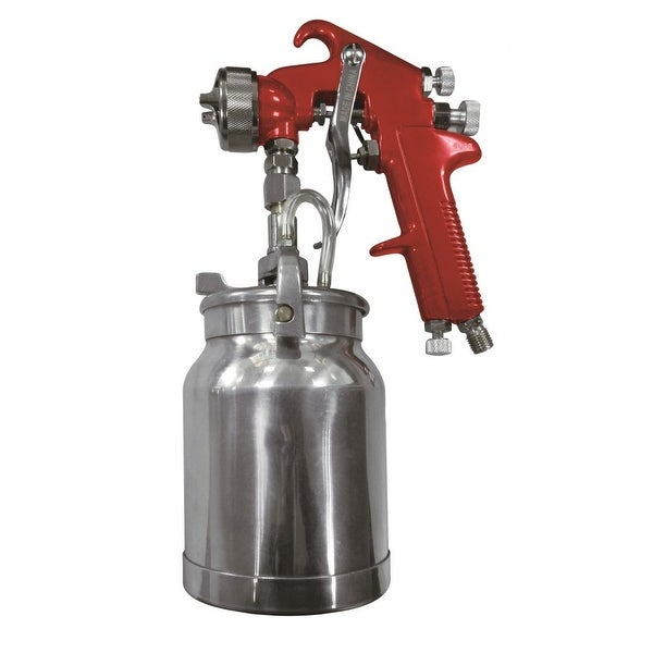 Astro 4008 astro 4008 spray gun with cup red handle 1.8mm nozzle