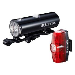 Cateye Light Cateye Hl-El060Rc Tl-Ld635R Volt200Xc/Rapid-Mini Combo Black - 8900371