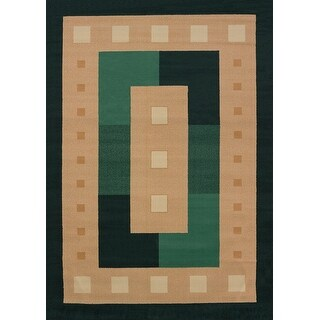 United Weavers of America Time Square Manhattan Rug Collection, 5 3 by 7' 6 Hunter