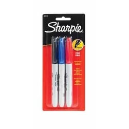 Sharpie 30173 Permanent Markers Fine Point, Assorted