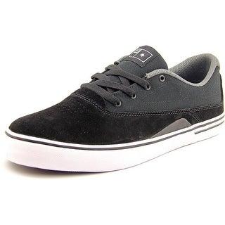 DC Shoes Sultan S Men Round Toe Suede Skate Shoe